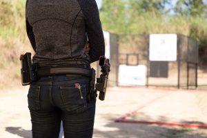 women firearms training