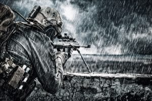 51068062 - u.s. army sniper during the military operation